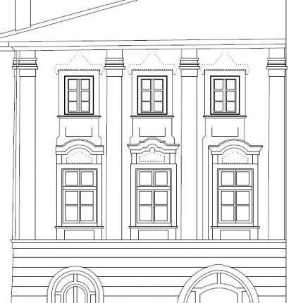 3D skenování fasády