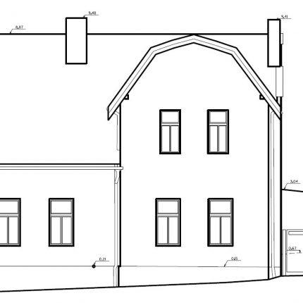 skenování rodinného domu Kukleny